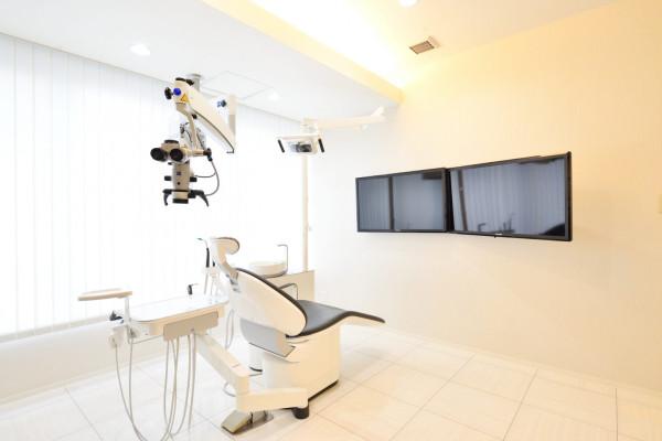 クレモト歯科なんば診療所診察室