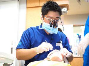 いとう歯科医院施術風景